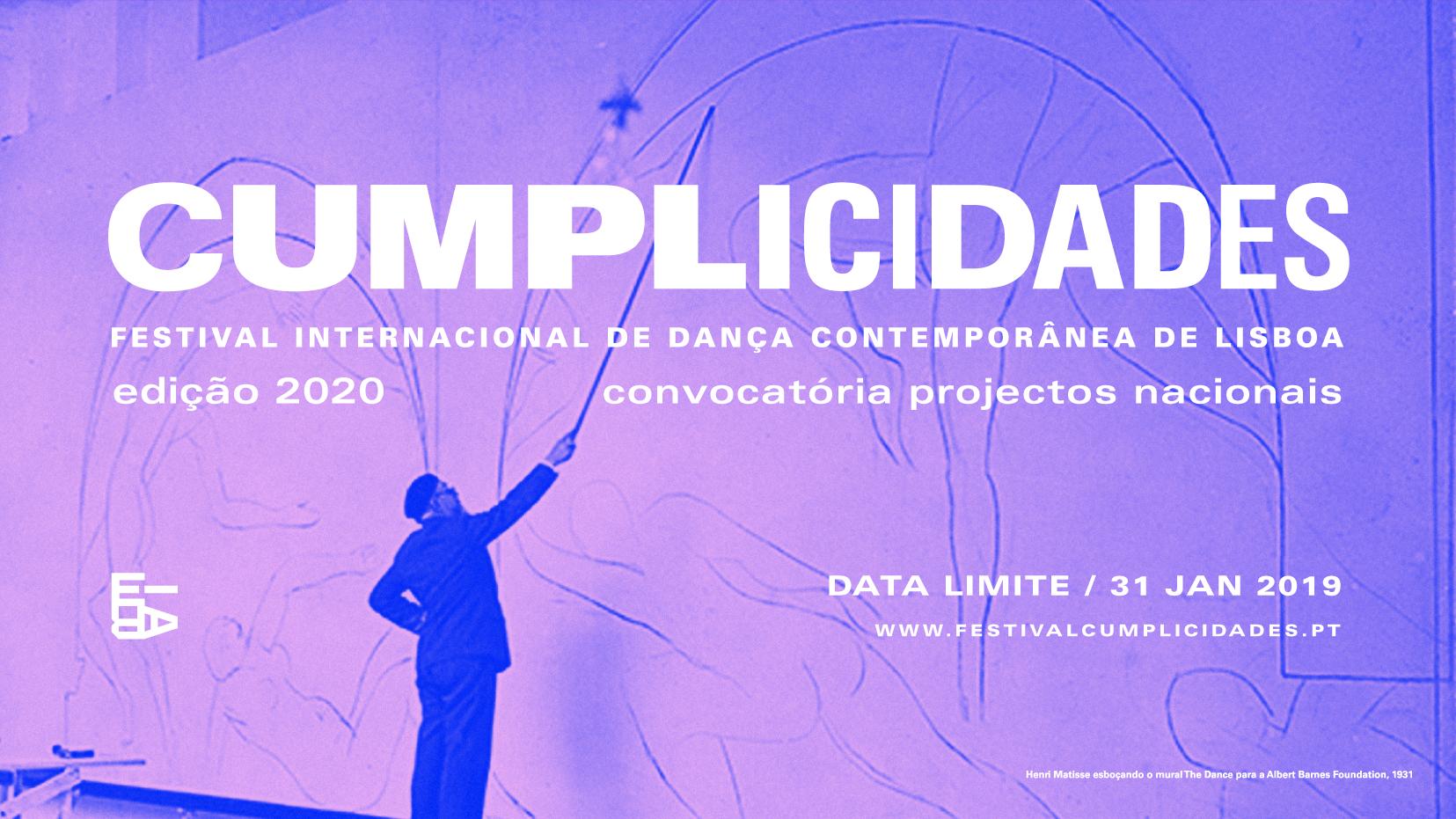 CUMPLICIDADES 2020 – Convocatória para projectos nacionais